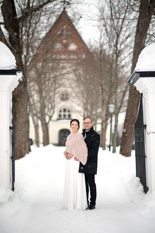 Vinterbröllop i Backenkyrkan