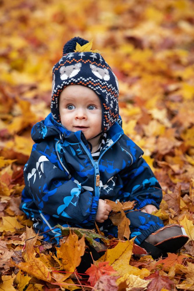 Barnfotografering utomhus Umeå