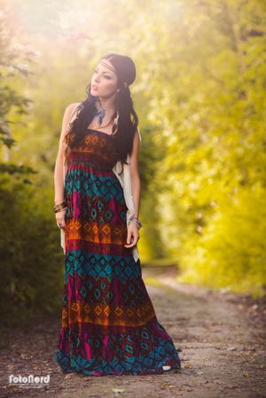 hippie girl fashion