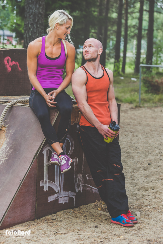 Fitnessfoto i Umeå