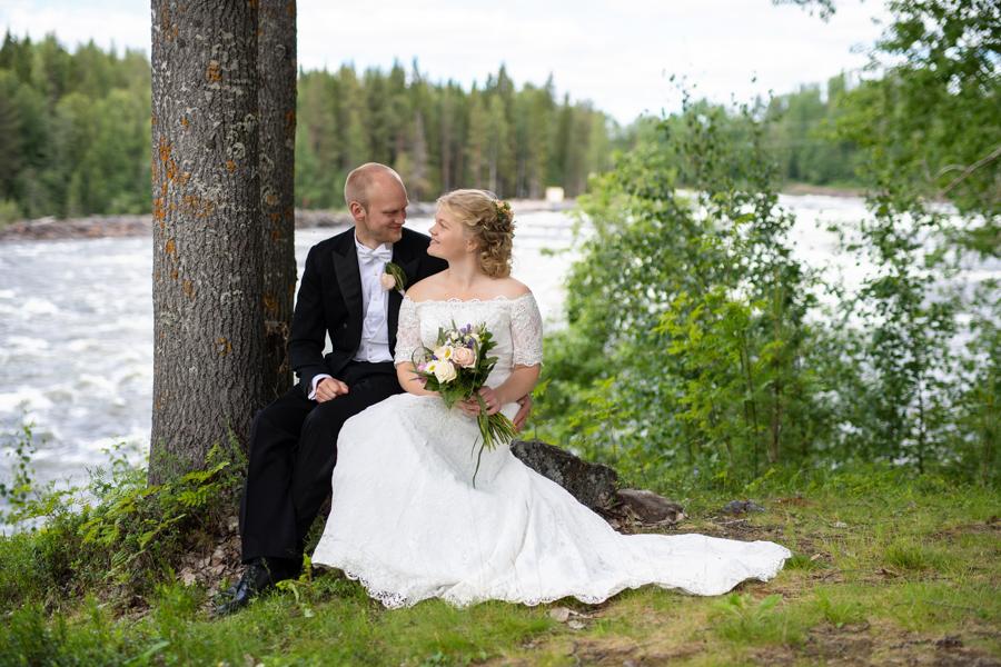 Linnéa & Emanuel – Bröllop i Vindeln