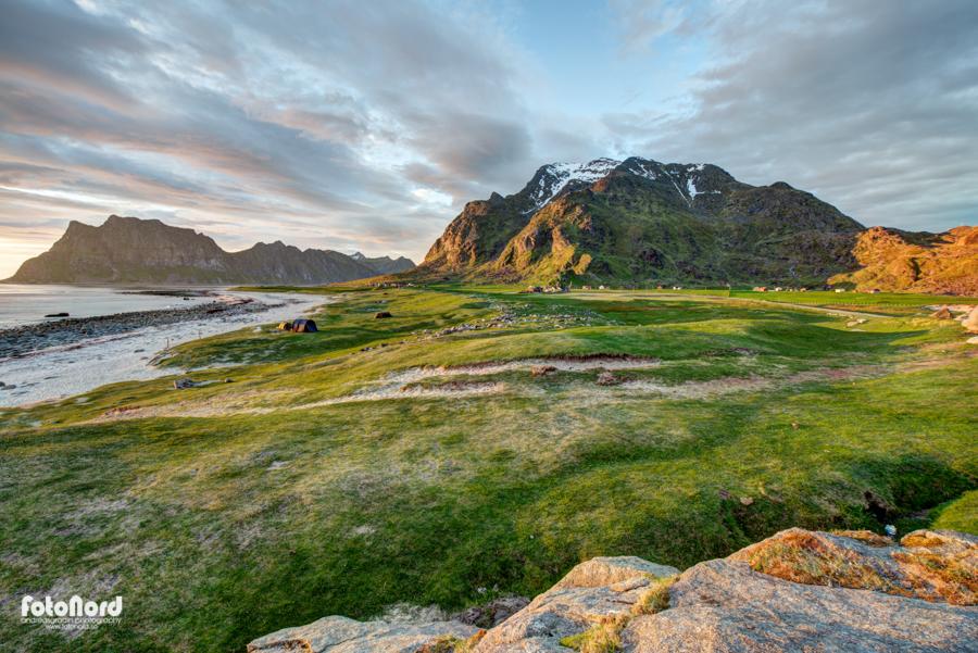 Beautiful landscape in Lofoten, Norway