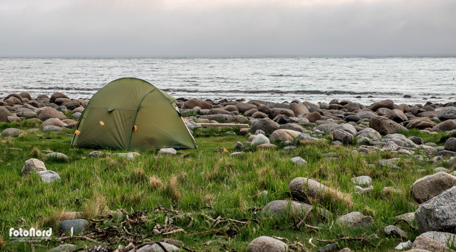 camping by the sea