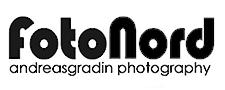 Fotonord – Din fotograf i Umeå – Andreas Gradin – Logo